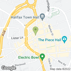 Map of Reeds Rains Estate Agents in Halifax, west yorkshire