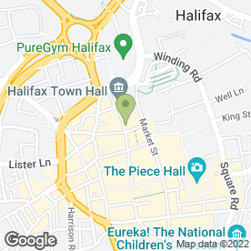Map of McDonald's Restaurants Ltd in Halifax, west yorkshire