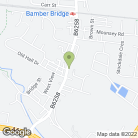 Map of Aspects Of Hair & Beauty in Bamber Bridge, Preston, lancashire