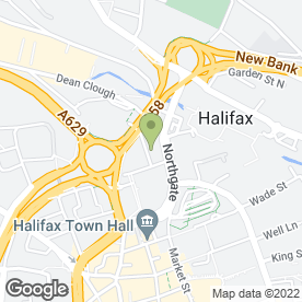 Map of That Studio in Halifax, west yorkshire