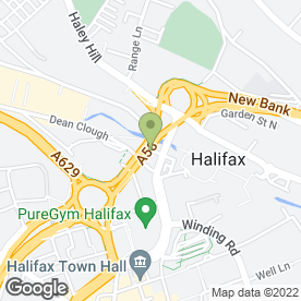 Map of SEAMAN & DAVIDSON in Halifax, west yorkshire