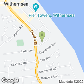 Map of Redwood Landscape Services in Withernsea, north humberside