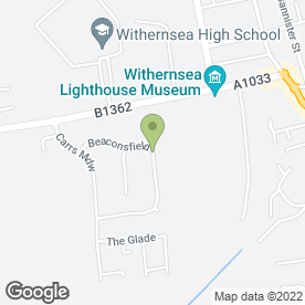Map of C.K Cakes in Withernsea, north humberside