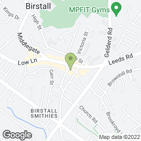 Map of Brearleys Solicitors - Wills & Probate Specialists in Birstall, west yorkshire