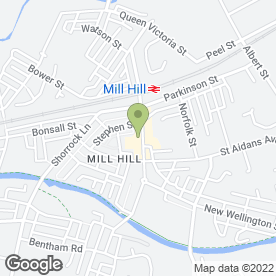 Map of Anna's in Mill Hill, Blackburn, lancashire