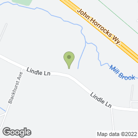 Map of ASHBRIDGE SCHOOL in Hutton, Preston, lancashire