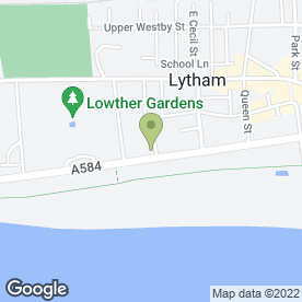 Map of DAMPCARE in Lytham St. Annes, lancashire