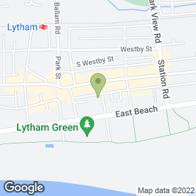 Map of Keller Design Centre in Lytham St. Annes, lancashire