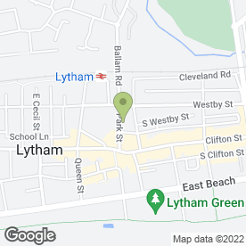 Map of Lytham P.O in Lytham St. Annes, lancashire
