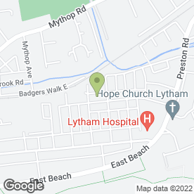 Map of Holland House Surgery in Lytham St. Annes, lancashire