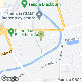 Map of Realtime-PC in Blackburn, lancashire