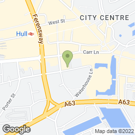 Map of China House in Hull, north humberside