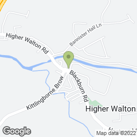 Map of Bon Appetit Catering in Higher Walton, Preston, lancashire