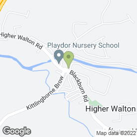 Map of Abbatiff Glass & Glazing in Higher Walton, Preston, lancashire