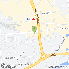 Map of GILSON HOTELS in Hull, north humberside