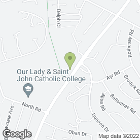 Map of Bridgeside Stores House Clearance Specialist in Blackburn, lancashire