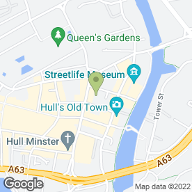 Map of QualitySolicitors Lockings in Hull, north humberside