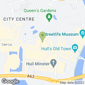 Map of ROS International Ltd in Hull, north humberside