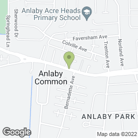 Map of Andrew Earles World of Travel in Anlaby Common, Hull, north humberside