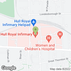 Map of Mitie Pest Control in Hull, north humberside