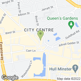 Map of Birdcage Boutique in Hull, north humberside