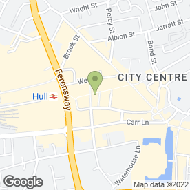 Map of Prem Clothing in Hull, north humberside