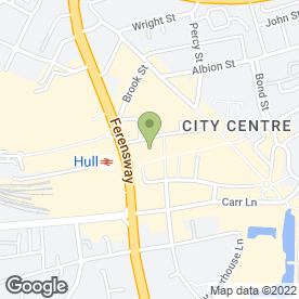 Map of Caffe Nero in Hull, north humberside