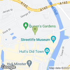 Map of Quality Personnel Ltd in Hull, north humberside