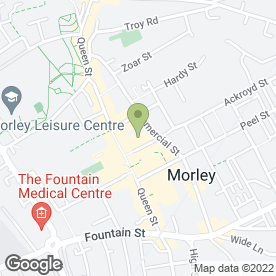 Map of Morley Herbalist in Morley, Leeds, west yorkshire