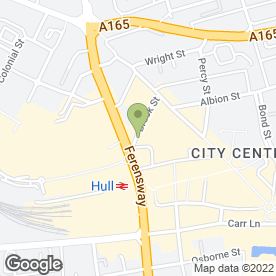 Map of Wokkas - The Chinese Bistro in Hull, north humberside