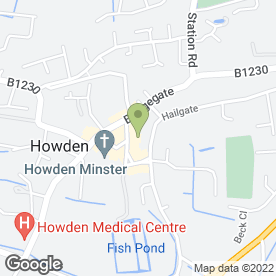 Map of Veronica Beauty Clinic in East Yorkshire, north humberside