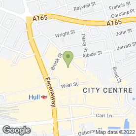 Map of Boots Hearing Care in Hull, north humberside