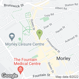 Map of Klick Photopoint in Morley, Leeds, west yorkshire