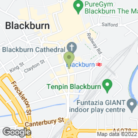 Map of Tasty Spot in Blackburn, lancashire