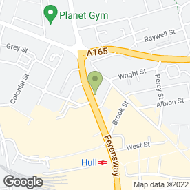 Map of Bodrum Takeaway in Hull, north humberside
