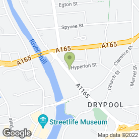 Map of A1 Tyre Services Ltd in Hull, north humberside