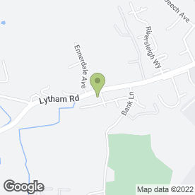 Map of Sigma 3 Kitchens & Bedrooms in Warton, Preston, lancashire