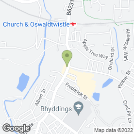 Map of Royal Phoenix in Oswaldtwistle, Accrington, lancashire