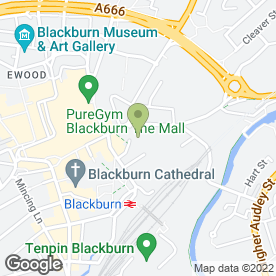 Map of Wm Morrison Supermarkets plc in Blackburn, lancashire