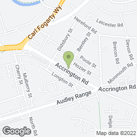 Map of Aston Pharmacy in Blackburn, lancashire