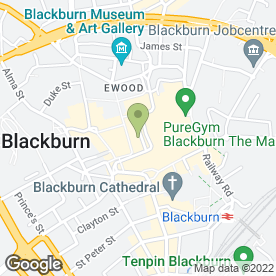Map of Superdrug Stores plc in Blackburn, lancashire