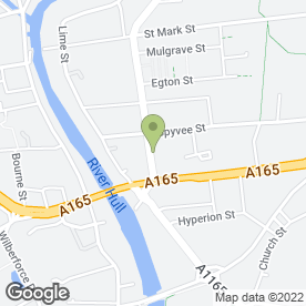 Map of Carmichaels Clothing in Hull, north humberside