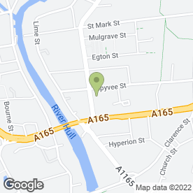 Map of FALKINGHAM & TAYLOR (VENDING) in Hull, north humberside