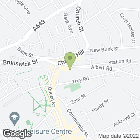 Map of PDQ Printing Services in Morley, Leeds, west yorkshire