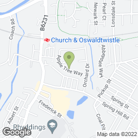 Map of Keep your PC Happy in Oswaldtwistle, Accrington, lancashire