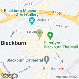 Map of Esquires Coffee in BLACKBURN, lancashire