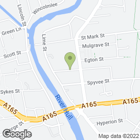 Map of Metro Motors in Hull, north humberside