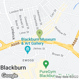 Map of Shandaar Tandoori in Blackburn, lancashire