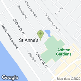 Map of SK Removals Of Lytham St Annes in Lytham St Annes, lancashire
