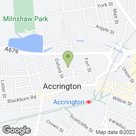 Map of McCORMACK & BROWN in Accrington, lancashire